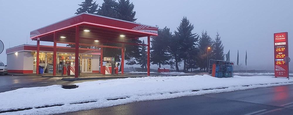 čerpací stanice G.A.S. Petroleum Litvínov