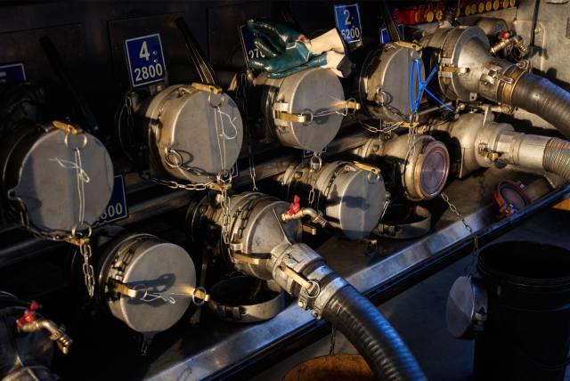 Přeprava olejů a aditiv G.A.S. Petroleum